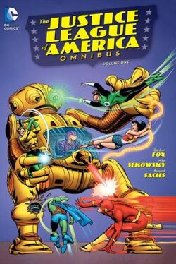 Cover for the Justice League of America Omnibus Vol. 1 Trade Paperback