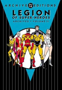 Cover for the Legion of Super-Heroes Archives Vol. 11 Trade Paperback