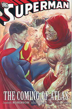 Cover for the Superman: Coming of Atlas Trade Paperback