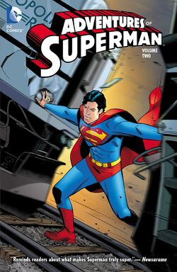 Cover for the Adventures of Superman Vol. 2 Trade Paperback