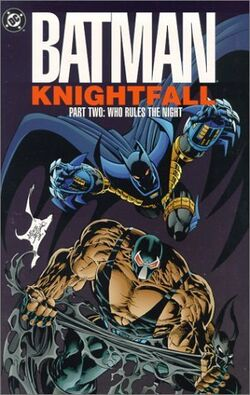 Cover for the Batman: Knightfall Part Two - Who Rules the Night Trade Paperback