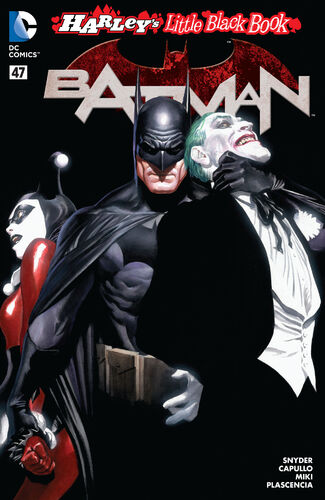 [[Alex Ross]] Harley's Little Black Book Variant