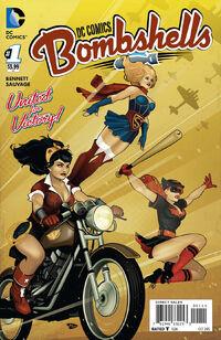 DC Comics Bombshells Vol 1 1 Variant