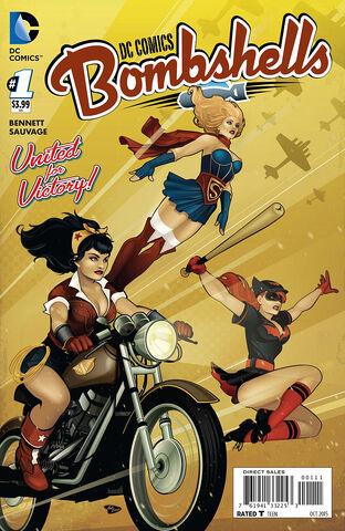 File:DC Comics Bombshells Vol 1 1 Variant.jpg