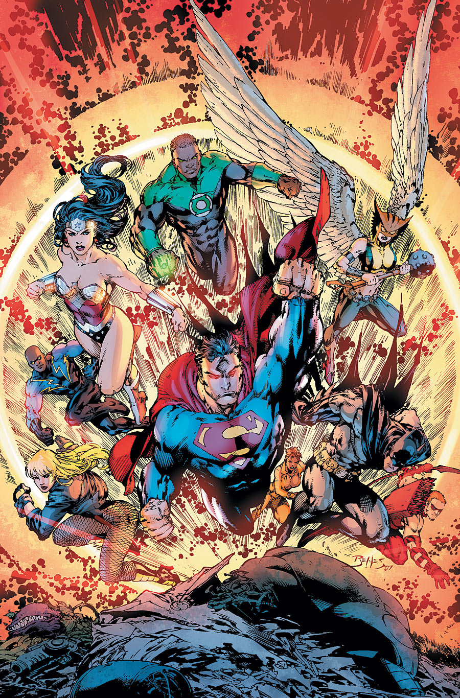 Justice League Of America Vol 2 19 Dc Database Fandom