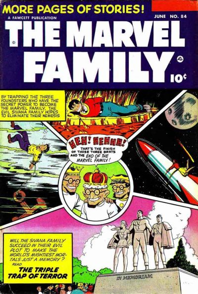Marvel Family Vol 1 84