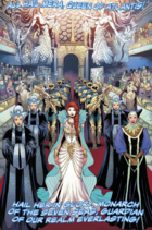 Mera during her coronation