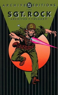 Cover for the Sgt. Rock Archives Vol. 2 Trade Paperback