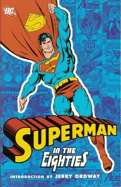 Cover for the Superman in the Eighties Trade Paperback