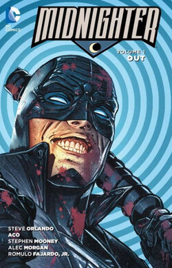 Cover for the Midnighter: Out Trade Paperback