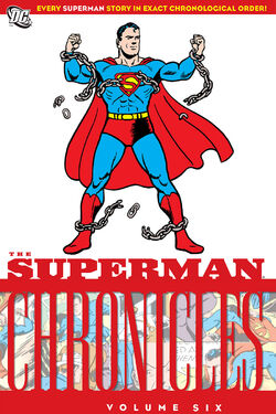 Cover for the Superman Chronicles Vol. 6 Trade Paperback