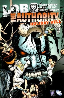 Cover for the The Authority/Lobo: Holiday Hell Trade Paperback