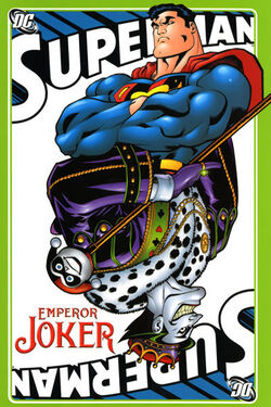 Cover for the Superman: Emperor Joker Trade Paperback