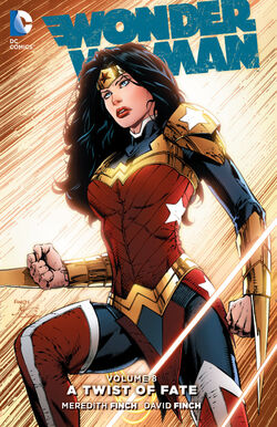 Cover for the Wonder Woman: A Twist of Fate Trade Paperback