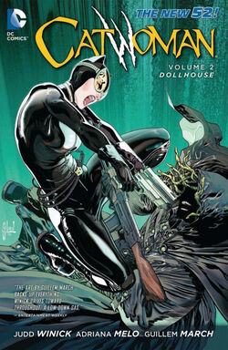 Cover for the Catwoman: Dollhouse Trade Paperback