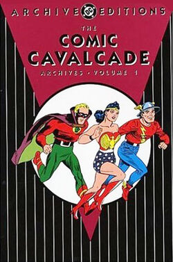 Cover for the The Comic Cavalcade Archives Vol. 1 Trade Paperback
