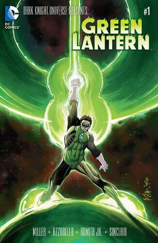 Green Lantern Mini Comic