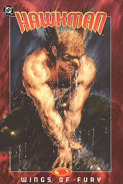 Cover for the Hawkman: Wings of Fury Trade Paperback