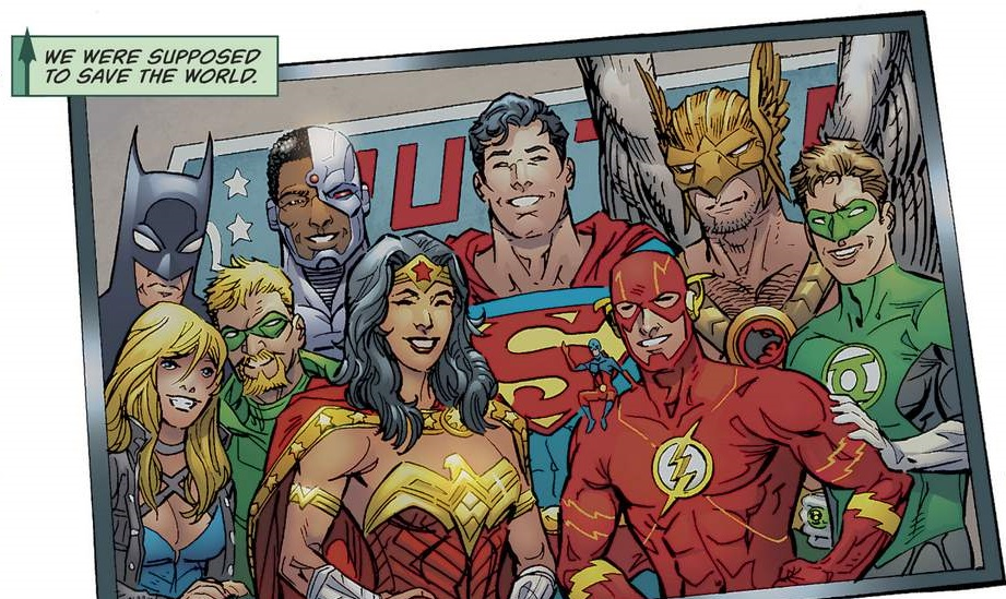 Image - Justice League The Birds of Christmas Past, Present and ...