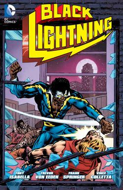 Cover for the Black Lightning Trade Paperback