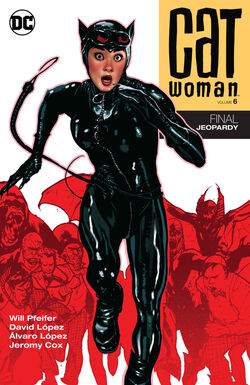 Cover for the Catwoman: Final Jeopardy Trade Paperback