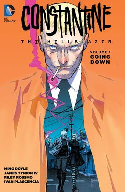 Cover for the Constantine: The Hellblazer: Going Down Trade Paperback