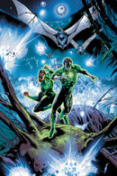 The Green Lanterns flee from remorseless killers