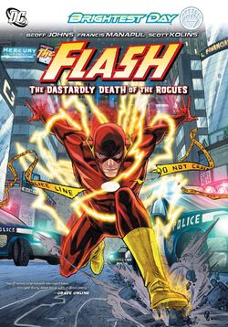 Cover for the The Flash: The Dastardly Death of the Rogues Trade Paperback