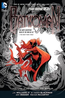 Cover for the Batwoman: To Drown the World Trade Paperback