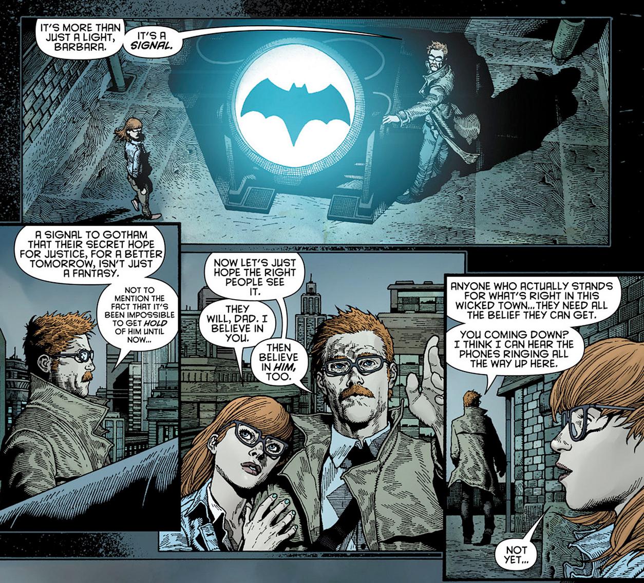 Image First Lighting Of The Bat Signal Jpg Dc Database