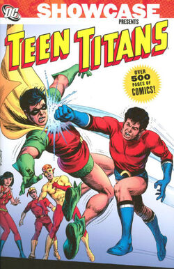 Cover for the Showcase Presents: Teen Titans Vol. 2 Trade Paperback