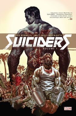 Cover for the Suiciders Vol. 1 Trade Paperback