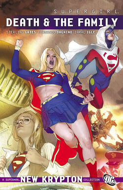 Cover for the Supergirl: Death and the Family Trade Paperback