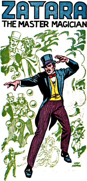 Zatara, Master of Mystical Arts and popular stage magician.