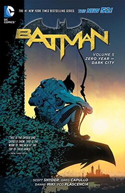 Cover for the Batman: Zero Year - Dark City Trade Paperback