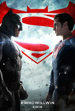 Batman v superman dawn of justice poster