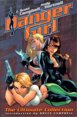 Cover for the Danger Girl: The Ultimate Collection Trade Paperback