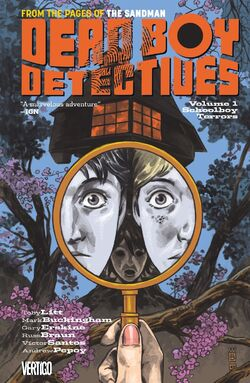 Cover for the Dead Boy Detectives: Schoolboy Terrors Trade Paperback