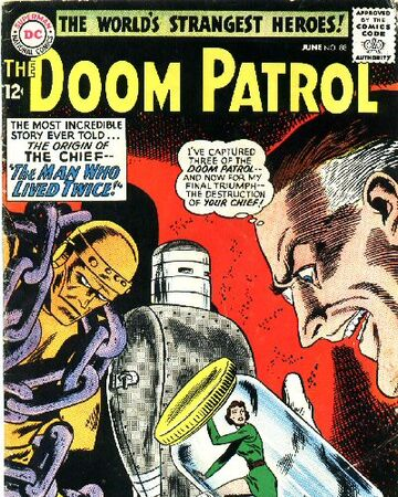 Doom Patrol Vol 1 88 Dc Database Fandom