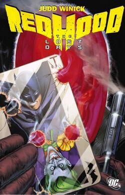 Cover for the Red Hood: The Lost Days Trade Paperback