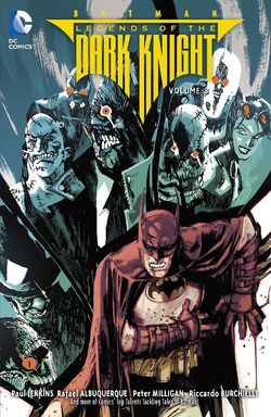 Cover for the Batman: Legends of the Dark Knight Vol. 3 Trade Paperback