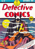 Detective Comics #31; illustration by Bob Kane