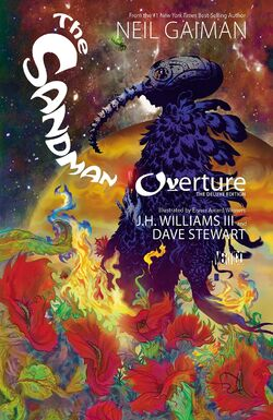 Cover for the The Sandman Overture Deluxe Edition Trade Paperback