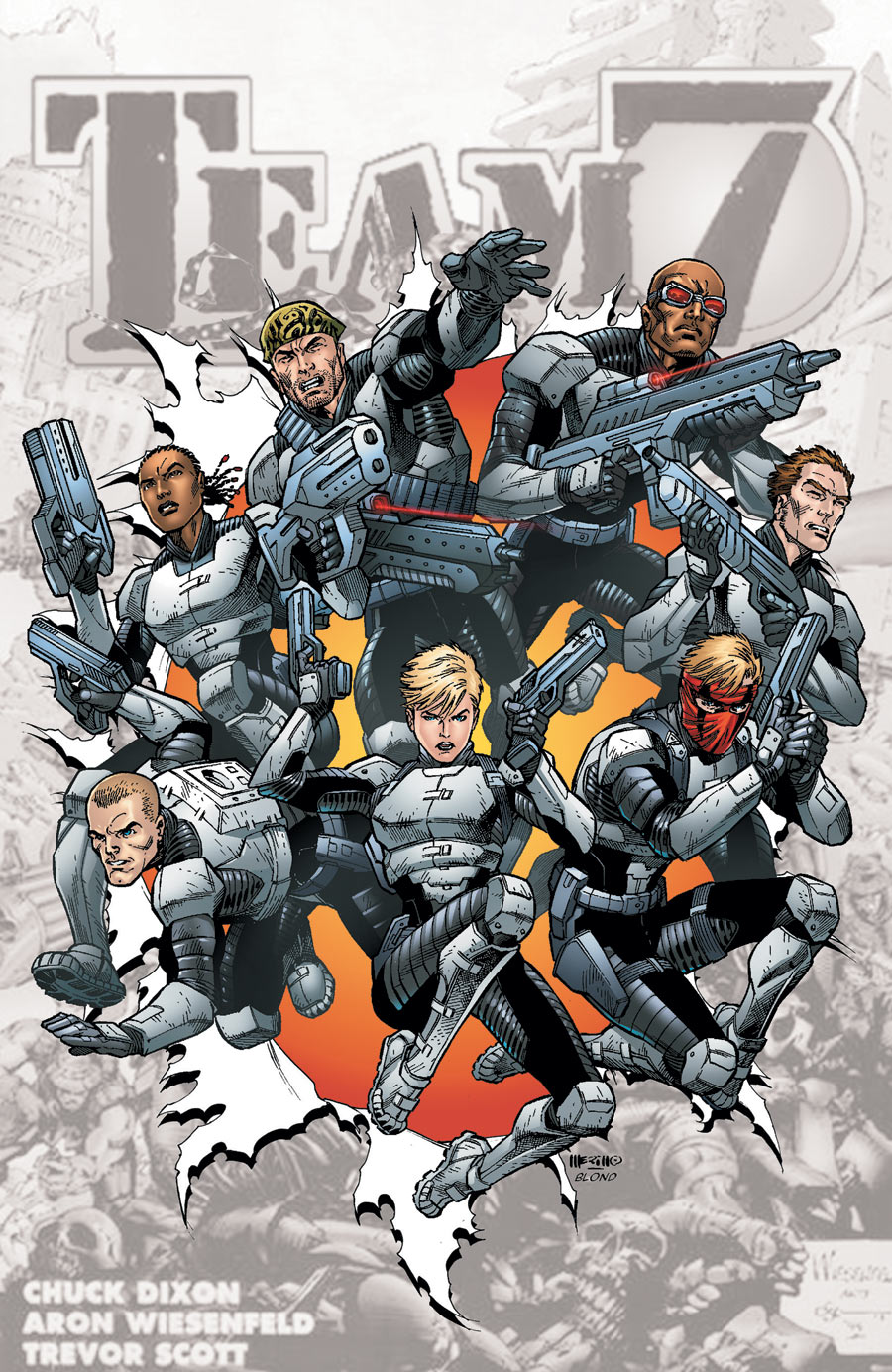 Team 7 #0 Comic Book 2012 New 52 DC