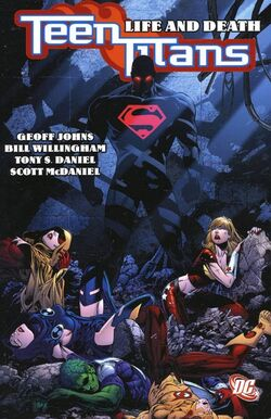 Cover for the Teen Titans: Life and Death Trade Paperback