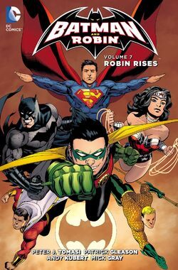 Cover for the Batman and Robin: Robin Rises Trade Paperback