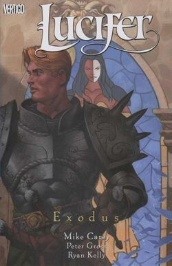 Cover for the Lucifer: Exodus Trade Paperback