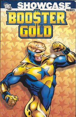 Cover for the Showcase Presents: Booster Gold Vol. 1 Trade Paperback