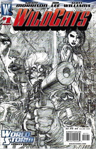 Jim Lee Sketch Variant