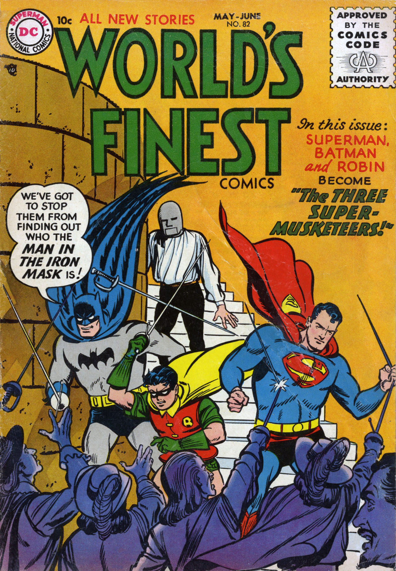 Image result for WORLD'S FINEST # 82